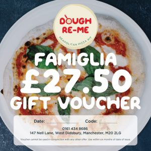 Pizza kit vouchers, Dough-Re-Me